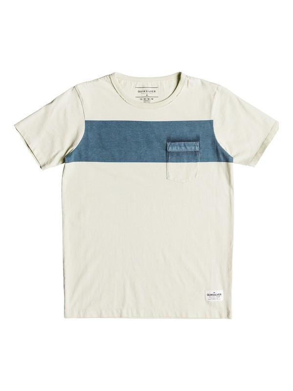 0 Sobu Lines - Camiseta para Chicos 8-16 Azul EQBKT03187 Quiksilver