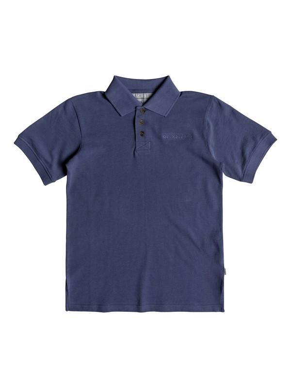 0 Boy's 8-16 Tori Pass Short Sleeve Polo Shirt Blue EQBKT03189 Quiksilver