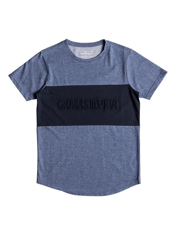0 Kuju - T-Shirt for Boys 8-16 Blue EQBKT03191 Quiksilver