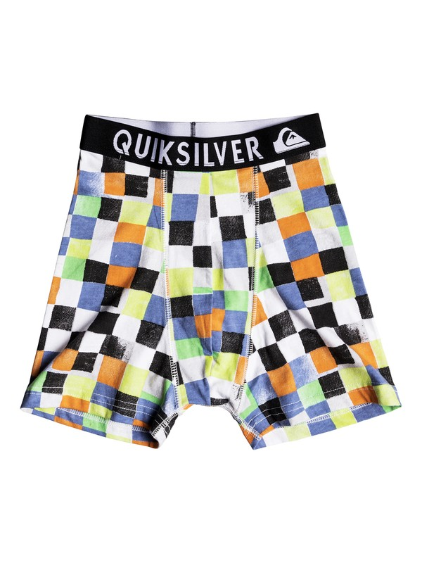 0 Boxer Poster - Boxer Briefs for Boys 8-16 Orange EQBLW03016 Quiksilver