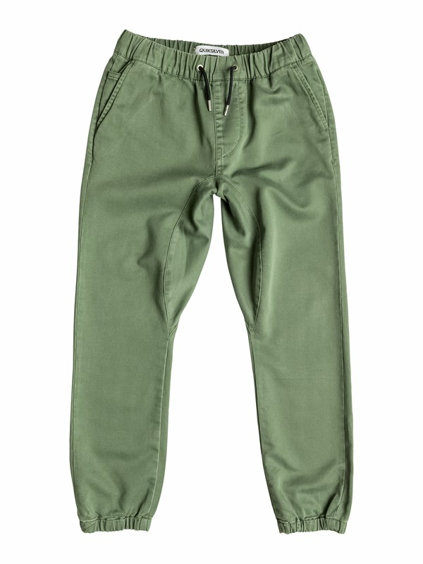 0 Fonic - Slim Fit Trousers  EQBNP03033 Quiksilver