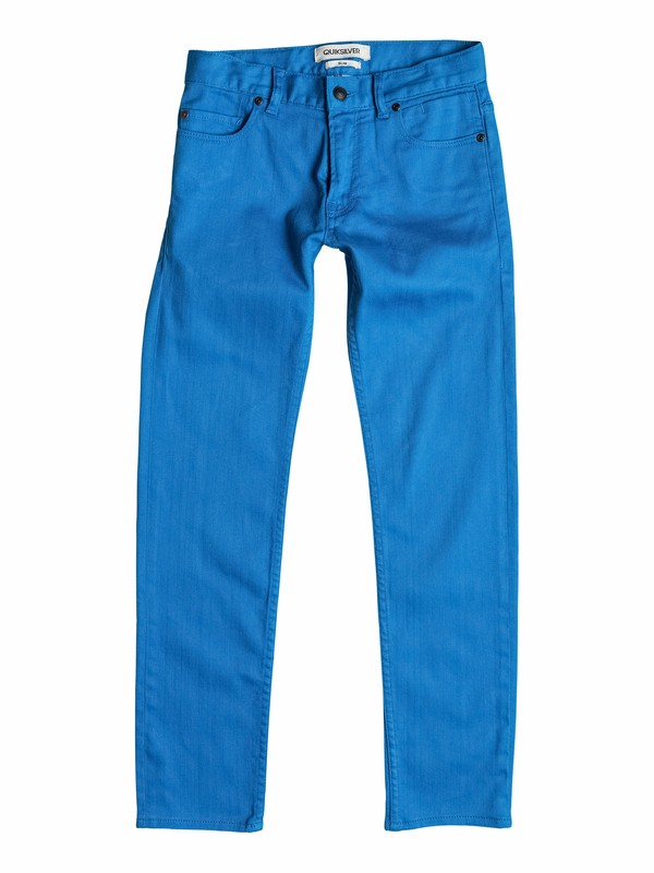 0 Distortion Colors - Slim-Fit Jeans  EQBNP03036 Quiksilver
