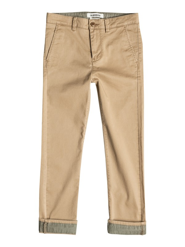 0 Krandy Straight Fit Block - Chinos  EQBNP03043 Quiksilver