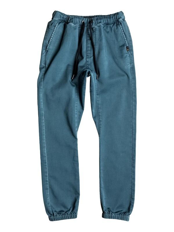 0 Fonic - Pantalon de jogging en sergé  EQBNP03056 Quiksilver