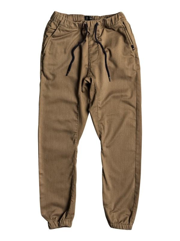 0 Fonic - Pantalon de jogging Marron EQBNP03060 Quiksilver