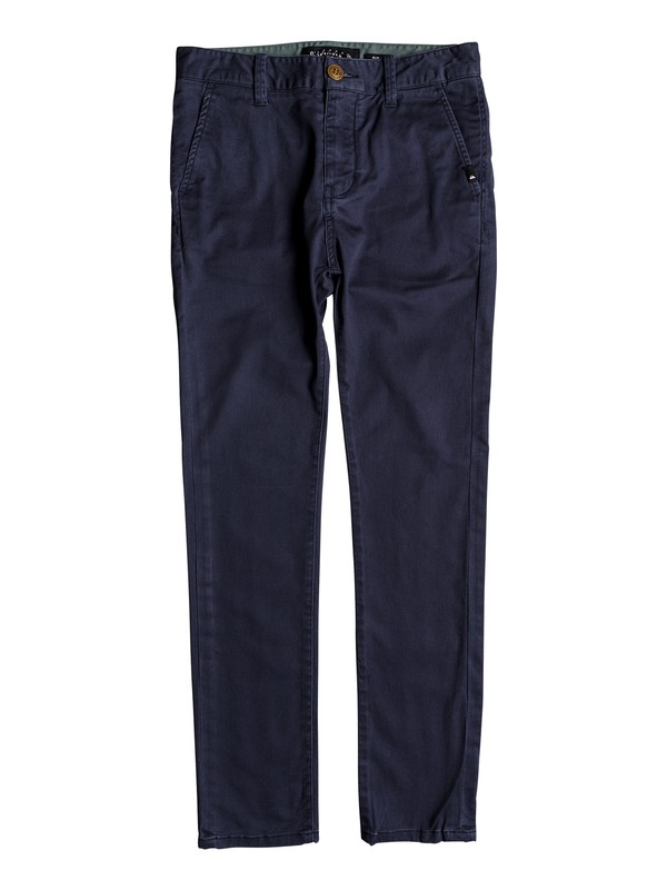 0 Krandy - Chinos for Boys 8-16 Blue EQBNP03062 Quiksilver