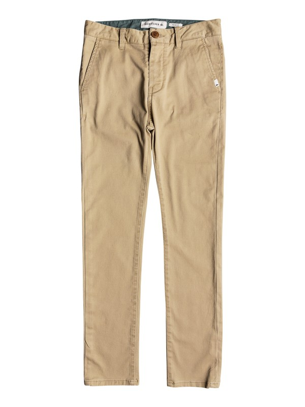 0 Krandy - Chinos Brown EQBNP03062 Quiksilver