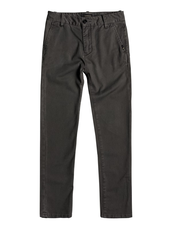 0 Boys 8 -16 Krandy Chinos Black EQBNP03062 Quiksilver