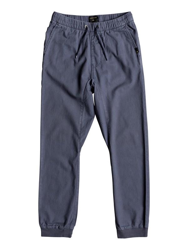 0 Wapu - Pantalon pour Garçon 8-16 ans Bleu EQBNP03064 Quiksilver