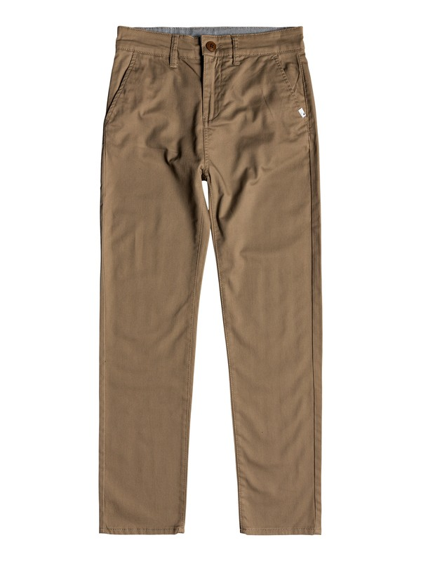 0 Boy's 8-16 Everyday Union Chinos Beige EQBNP03065 Quiksilver