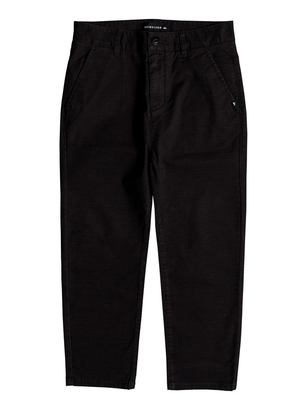 0 Omine - Ankle Length Trousers for Boys 8-16 Black EQBNP03069 Quiksilver