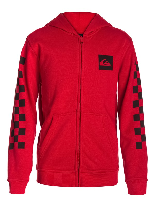 0 Hood Zip Good Youth H6 Red EQBSF03023 Quiksilver