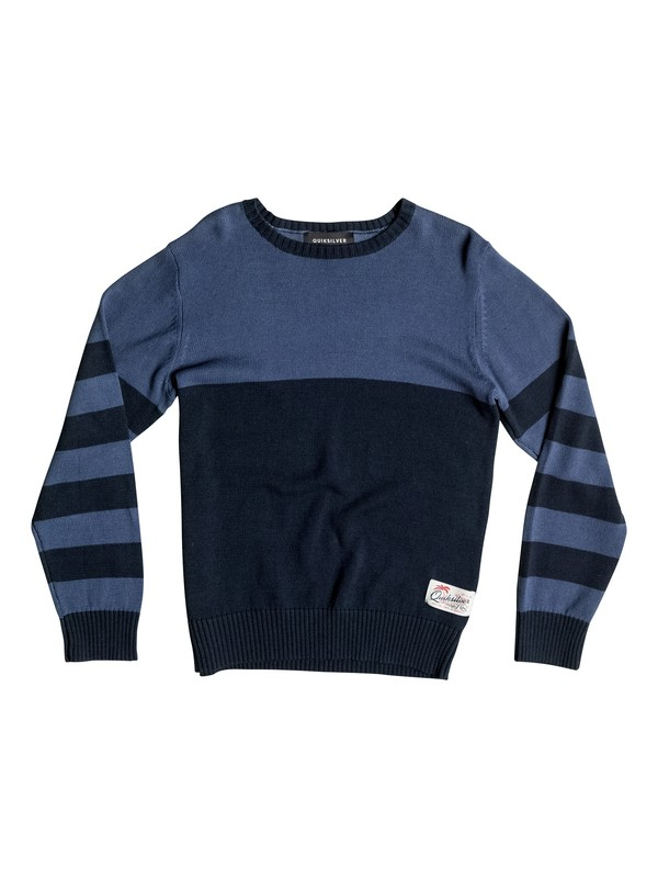 0 Wounded Pride - Sweater Blue EQBSW03024 Quiksilver