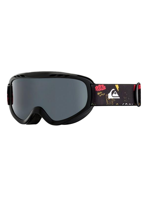 0 Flake - Máscara para esquí/snowboard para Chicos 8-16 Negro EQBTG03009 Quiksilver