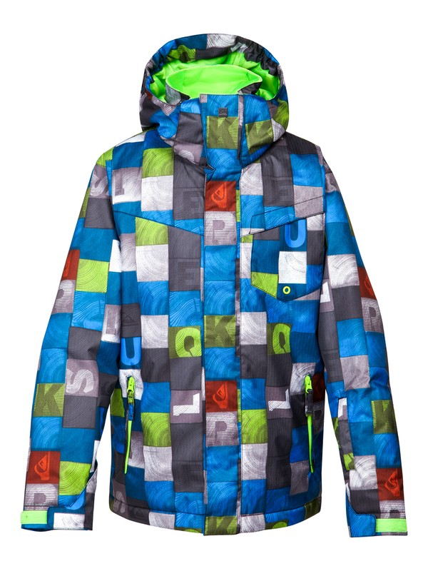 0 Mission Printed Youth Jkt  EQBTJ00024 Quiksilver
