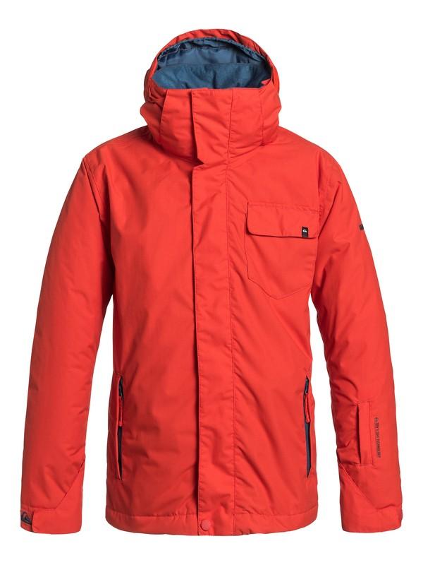 0 Mission Plain - Snowboard Jacket  EQBTJ03001 Quiksilver