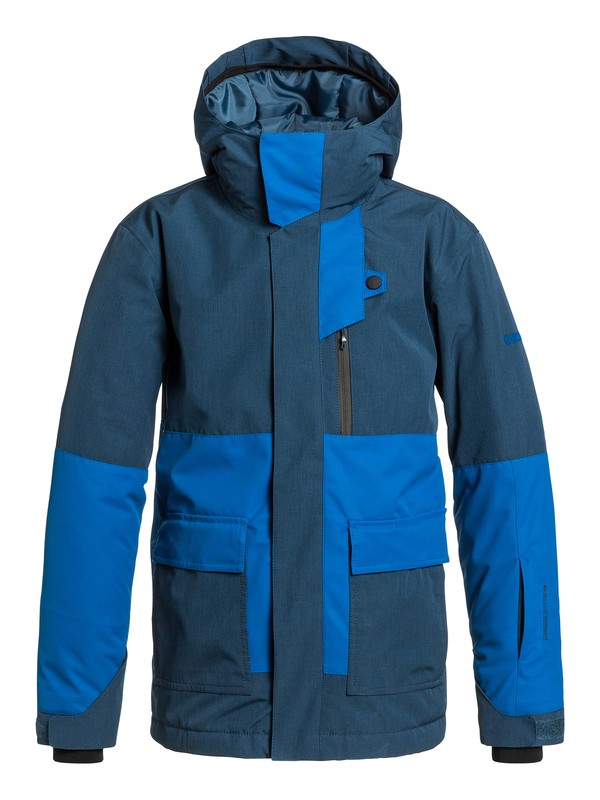 0 Boys 8-16 York Snow Jacket  EQBTJ03006 Quiksilver