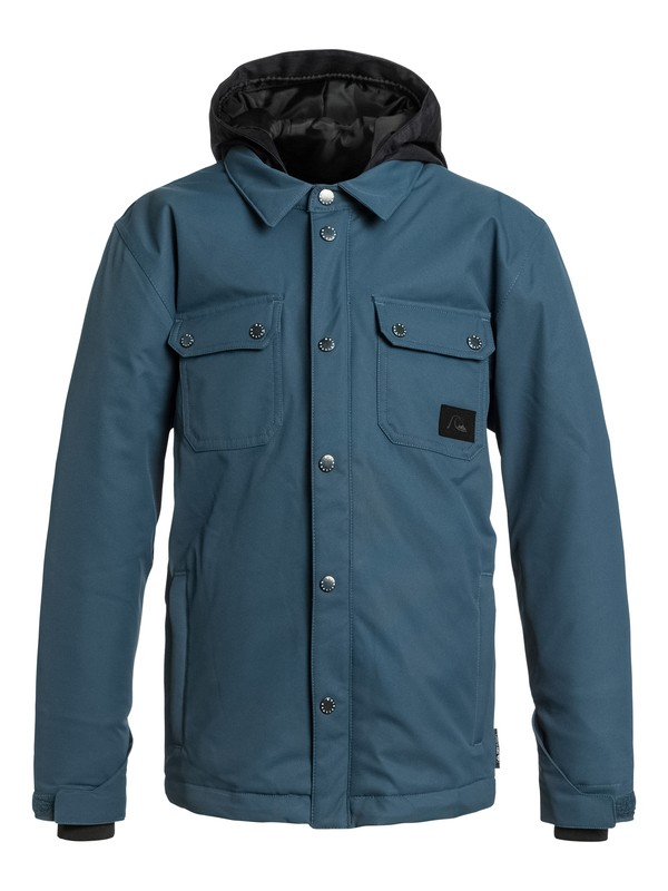 0 Boys 8-16 Amplify Snow Jacket  EQBTJ03013 Quiksilver