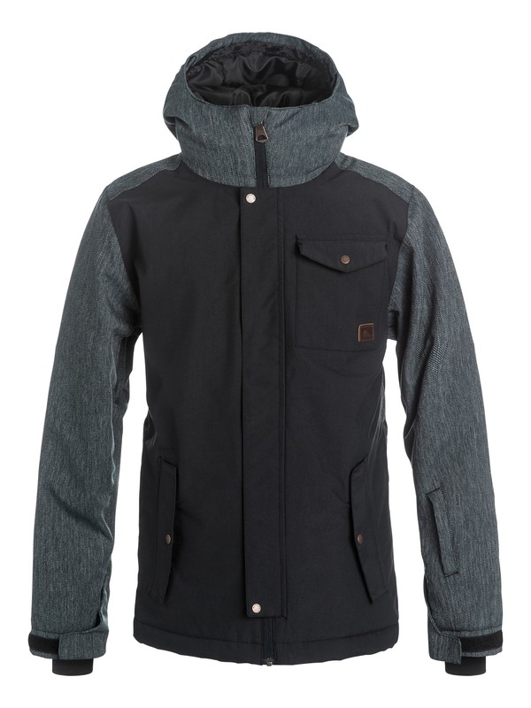 0 Boys 8-16 Ridge Snow Jacket  EQBTJ03032 Quiksilver