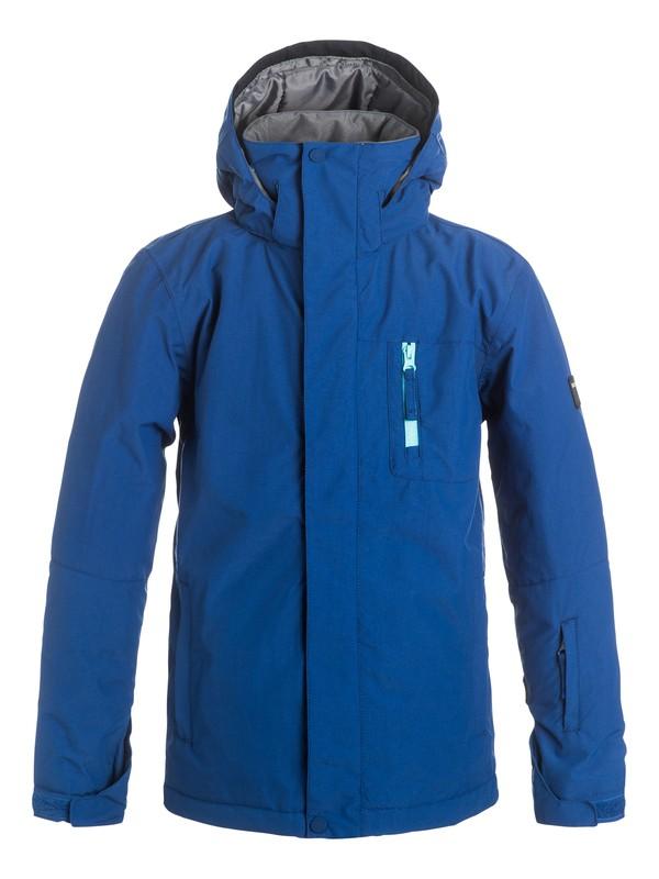 0 Mission Solid - Snow Jacket  EQBTJ03036 Quiksilver
