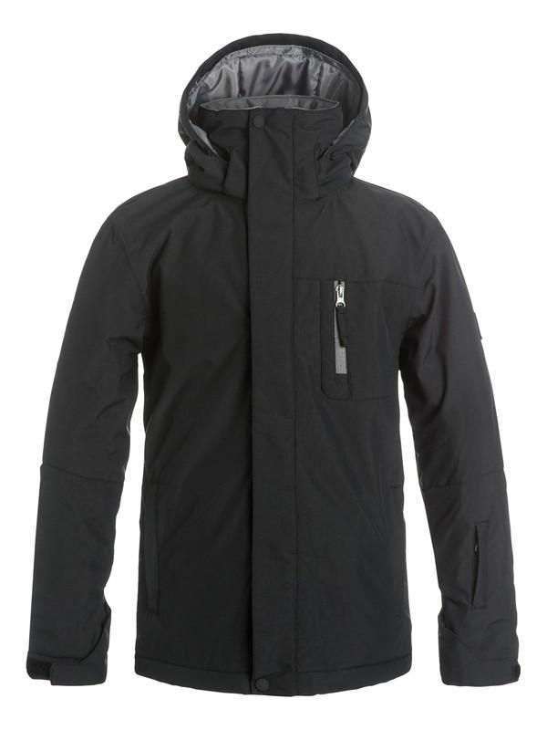 0 Boys 8-16 Mission Solid Snow Jacket  EQBTJ03036 Quiksilver