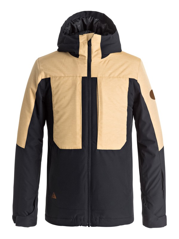 0 TR Ambition - Snow Jacket for Boys 8-16 Yellow EQBTJ03054 Quiksilver