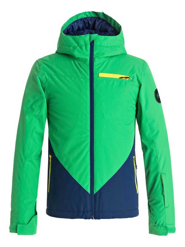 0 Suit Up - Snow Jacket Blue EQBTJ03055 Quiksilver