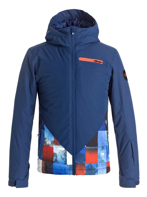 0 Suit Up - Snow Jacke für Jungen 8-16 Orange EQBTJ03055 Quiksilver