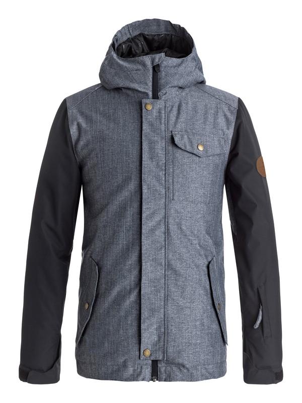 0 Boy's 8-16 Ridge Snow Jacket  EQBTJ03057 Quiksilver