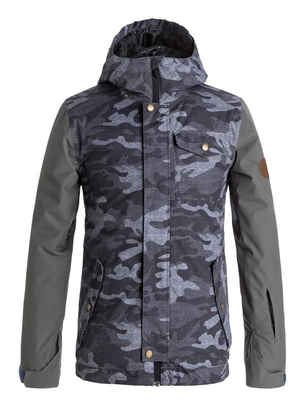 0 Ridge - Snow Jacke für Jungen 8-16 Schwarz EQBTJ03057 Quiksilver