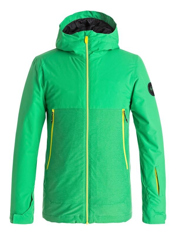 0 Boy's 8-16 Sierra Snow Jacket  EQBTJ03058 Quiksilver