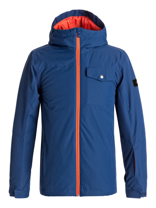 0 Boy's 8-16 Mission Snow Jacket  EQBTJ03060 Quiksilver