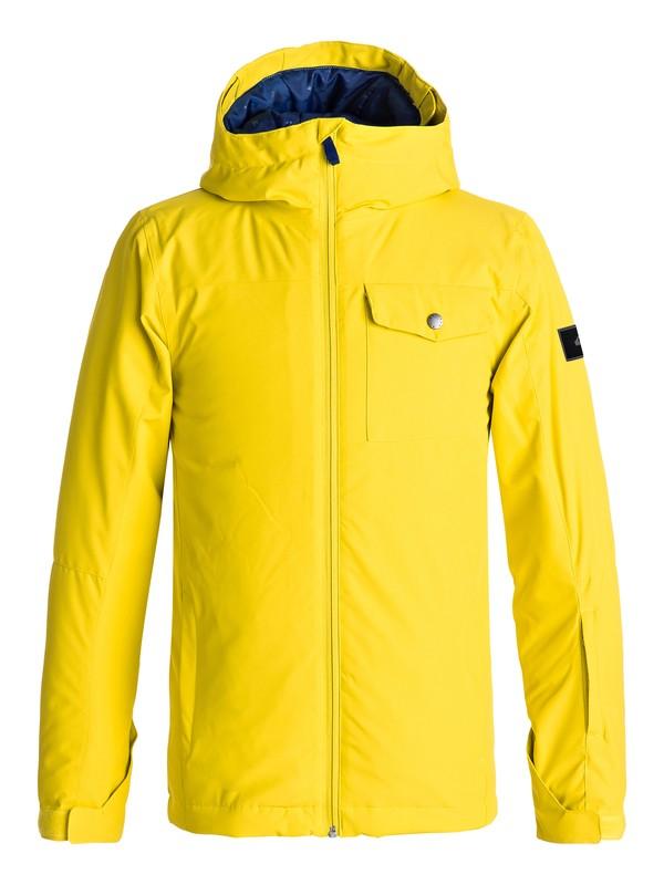 0 Mission - Snow Jacke für Jungen 8-16 Grün EQBTJ03060 Quiksilver