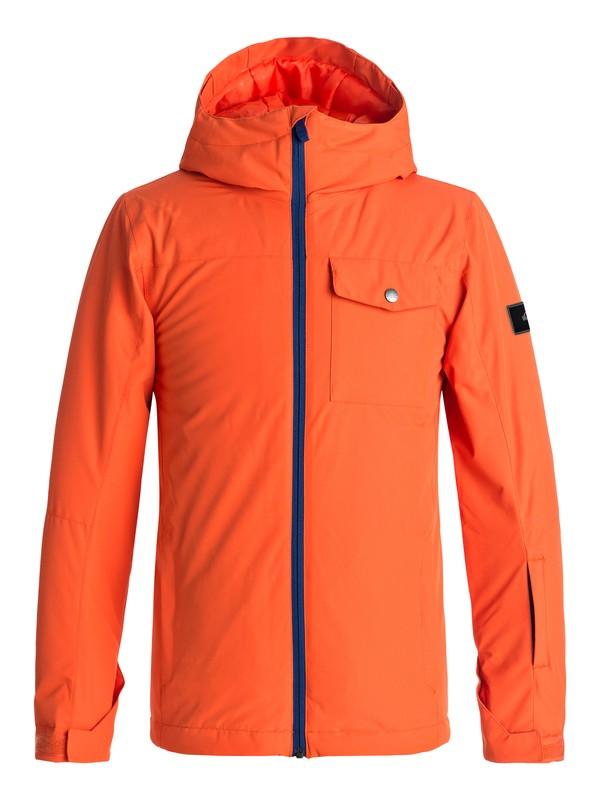 0 Mission - Snow Jacket Orange EQBTJ03060 Quiksilver