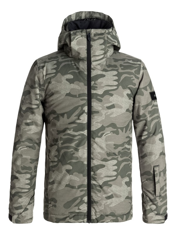 0 Boy's 8-16 Mission Snow Jacket  EQBTJ03061 Quiksilver