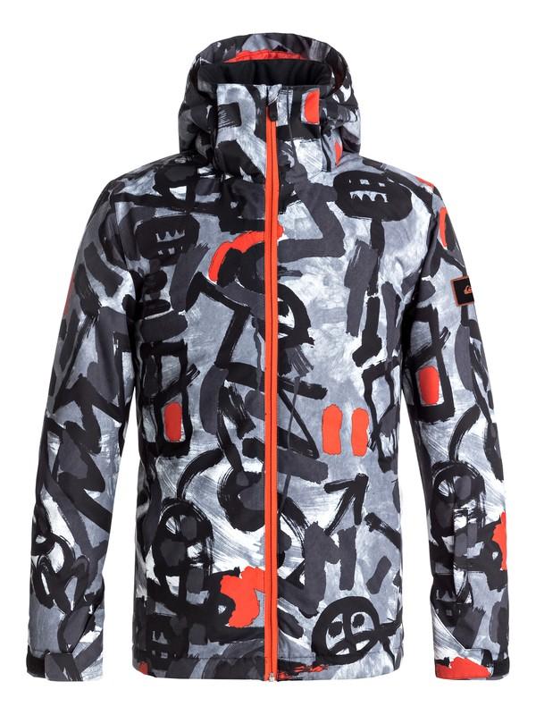 0 Mission - Snow Jacke für Jungen 8-16 Schwarz EQBTJ03061 Quiksilver