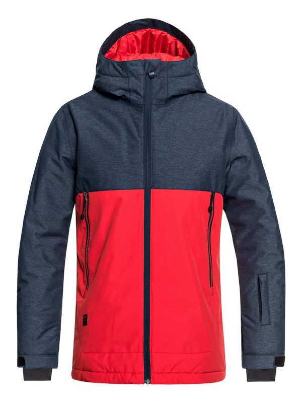 0 Sierra - Snow Jacket for Boys 8-16 Blue EQBTJ03076 Quiksilver