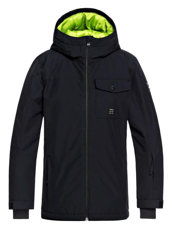 0 Mission - Snow Jacket for Boys 8-16 Black EQBTJ03078 Quiksilver