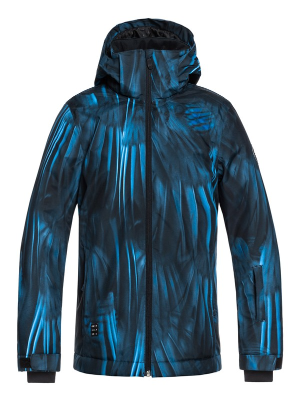 0 Mission - Snow Jacket Blue EQBTJ03079 Quiksilver