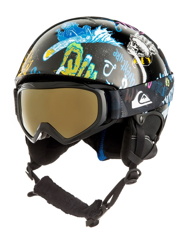 0 The Game Pack Casco de snowboard Negro EQBTL03001 Quiksilver