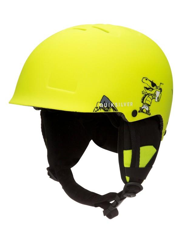 0 Empire - Casque de snowboard/ski Vert EQBTL03004 Quiksilver