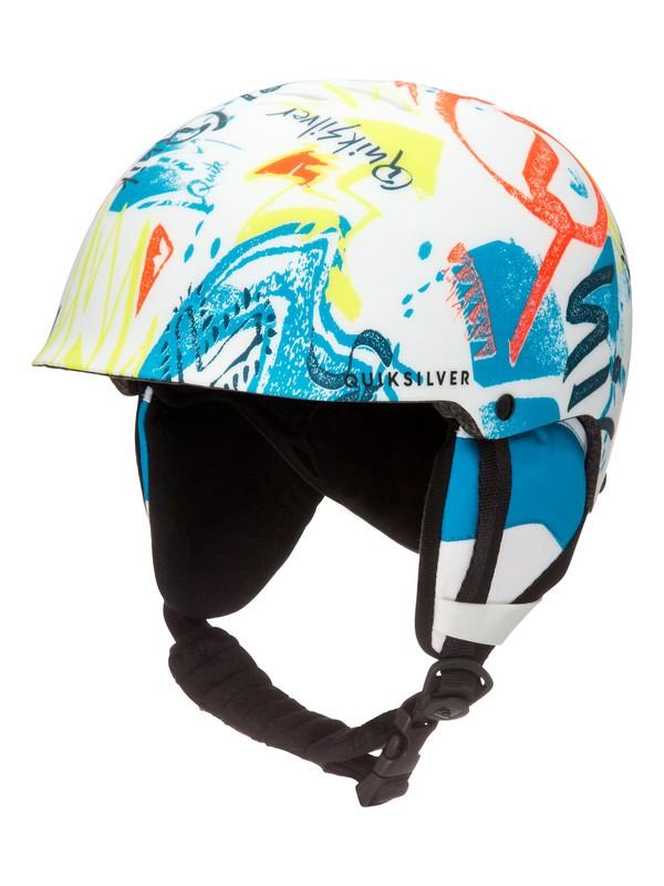 0 Empire - Snowboard / Skihelm für Jungen 8-16 Weiss EQBTL03004 Quiksilver