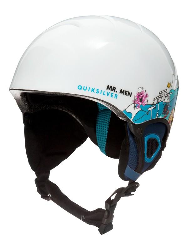 0 The Game Mr Men - Snowboard/Ski Helmet for Boys 8-16 White EQBTL03007 Quiksilver