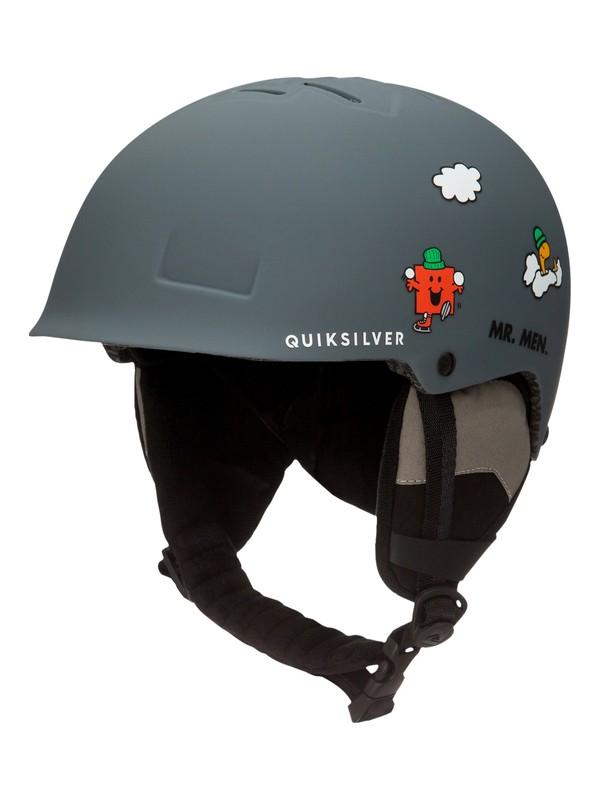 0 Empire Mr Men - Casque de snowboard/ski pour Garçon 8-16 ans Noir EQBTL03008 Quiksilver