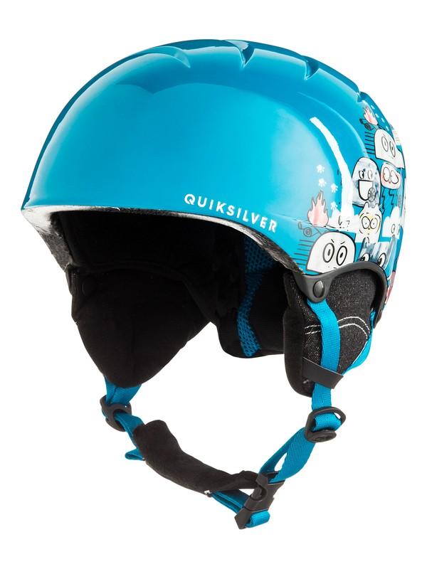 0 The Game - Casque de snowboard/ski pour Garçon 8-16 ans Bleu EQBTL03011 Quiksilver