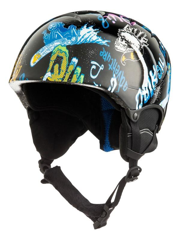 0 The Game - Casque de snowboard/ski pour Garçon 8-16 ans Noir EQBTL03011 Quiksilver