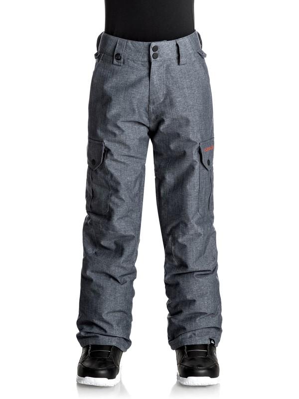 0 Porter - Snow Pants for Boys 8-16 Blue EQBTP03012 Quiksilver