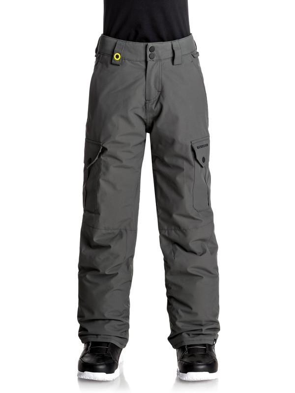 0 Porter - Pantalon de snow Noir EQBTP03012 Quiksilver