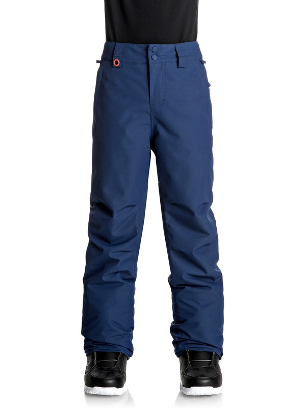 0 Boy's 8-16 Estate Snow Pants  EQBTP03013 Quiksilver