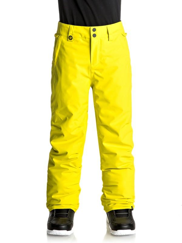 0 Estate - Pantalon de snow Vert EQBTP03013 Quiksilver